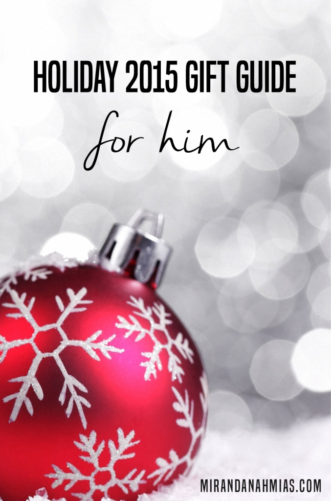 Holiday 2015 For Him Gift Guide Pinterest