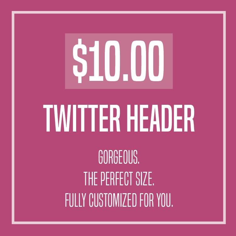 Twitter Header Design