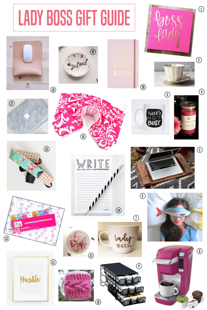 The Ultimate Holiday 2015 Gift Guide for a Special Lady Boss in Your Life! 20 Unique Gifts All Under $100! // Miranda Nahmias