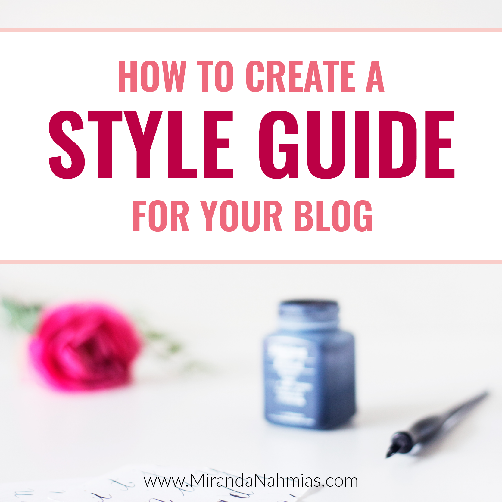 How to Create a Style Guide for Your Blog Square