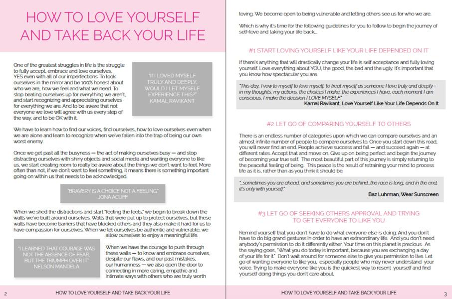 How-to-Love-Yourself-Portfolio