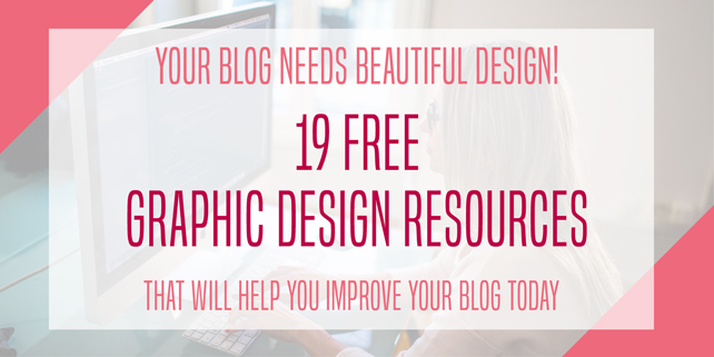 Your Blog Needs Beautiful Design: 19 Free Resources! via @mirandanahmias