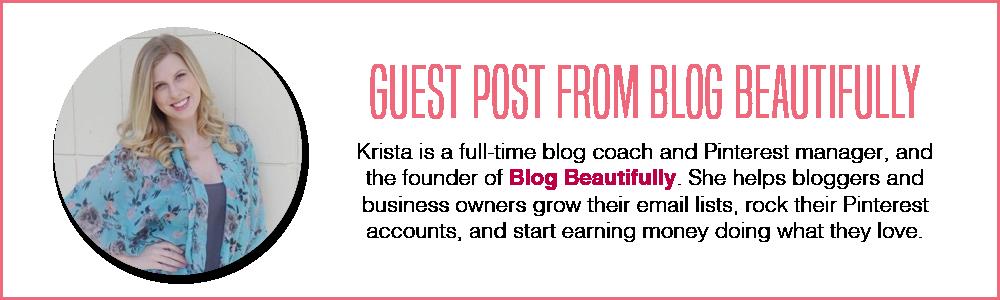 Blog Beautifully Guest Post Bio