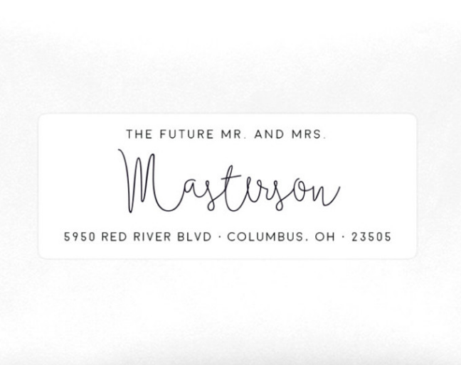 Return Address Labels Etsy Shops July 2016