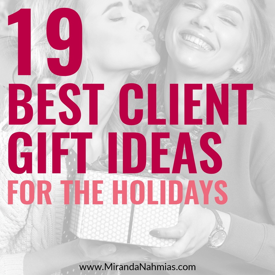 19 Best Client Gift Ideas For The Holidays (under $30