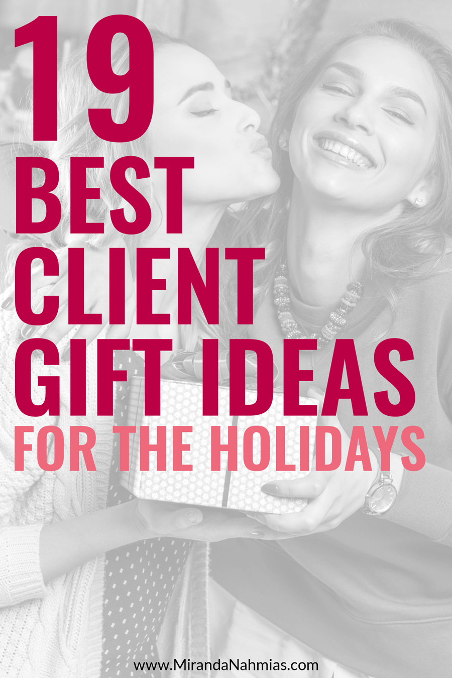19 Best Client Gift Ideas for the Holidays // Miranda Nahmias