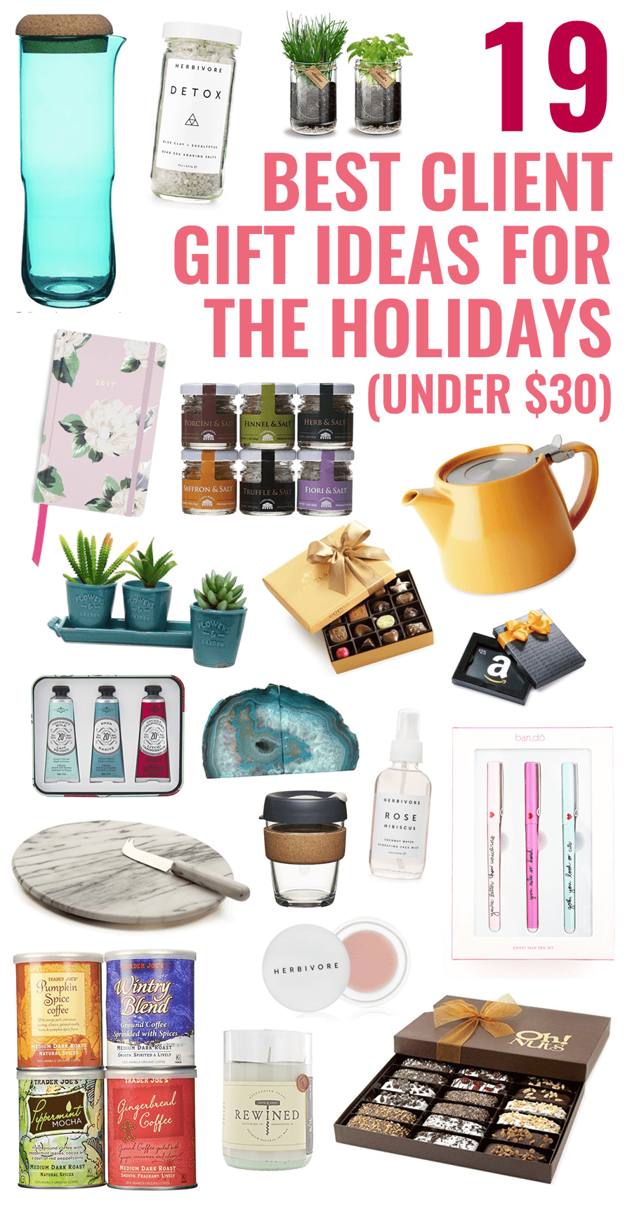 19 Best Client Gift Ideas for the Holidays (under $30!) // Miranda Nahmias
