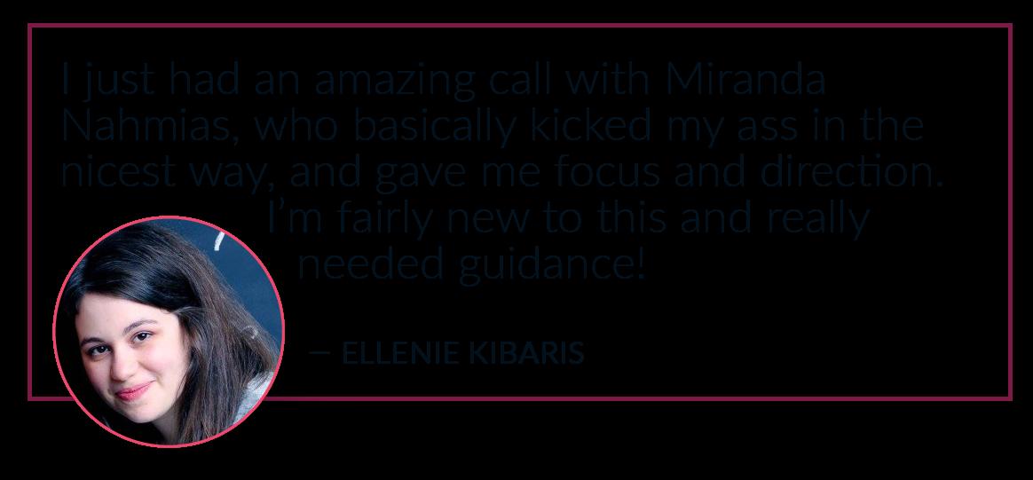 Ellenie Kibaris Audience Love