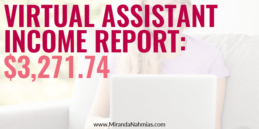 Virtual-assistant-income-report