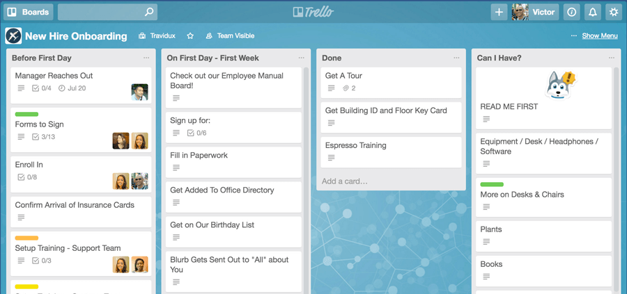 Trello-Board-Overview