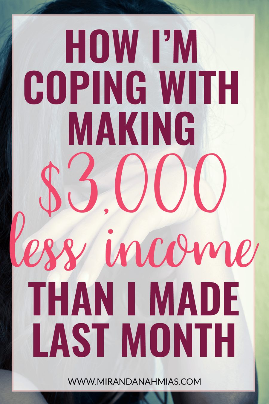 How I'm Coping with Making $3,000 Less Income Than I Made Last Month. My March 2017 income report for digital marketing/virtual assistance agency // Miranda Nahmias & Co. Digital Marketing & Virtual Assistance Agency for Female Online Service Providers