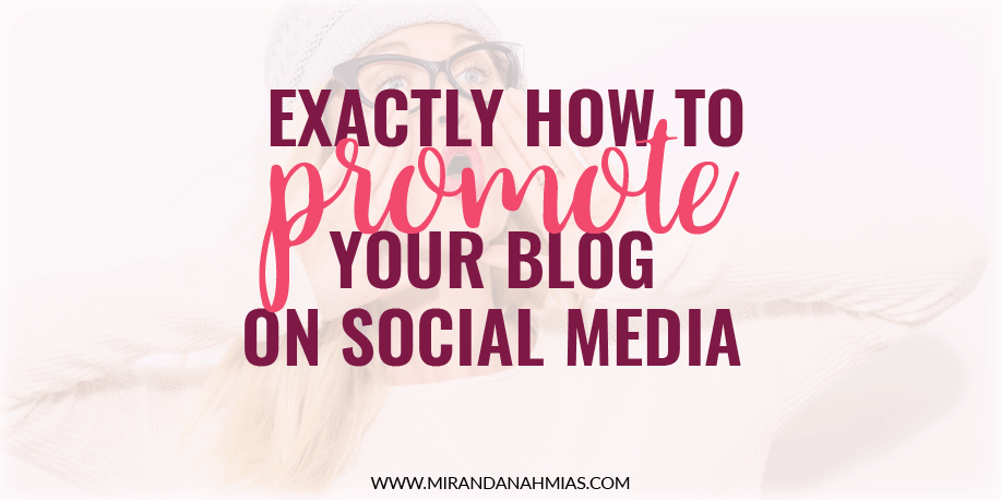 How-to-promote-your-blog-on-social-media