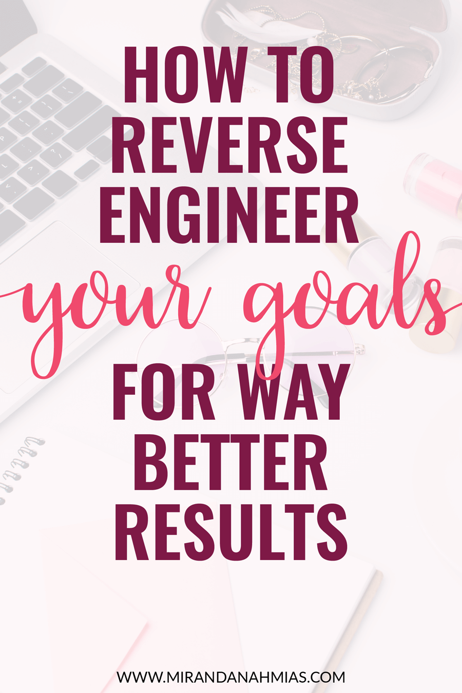 Goals giving you trouble? Slay your goals by reverse-engineering them! Here's how... | Miranda Nahmias & Co. Digital Marketing — Clients, Systems, Marketing