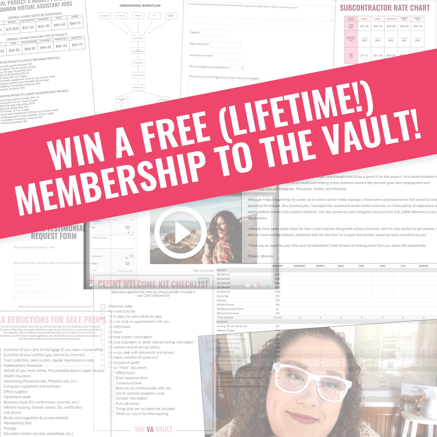 Free Vault Membership