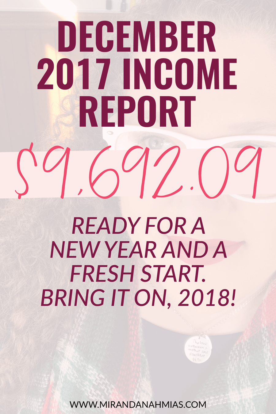 Here's my December 2017 income report. My business is a work in progress, but I'm excited for where it will take me in 2018! | Miranda Nahmias & Co. — Score Clients and Explode Your Business with Systematic Marketing