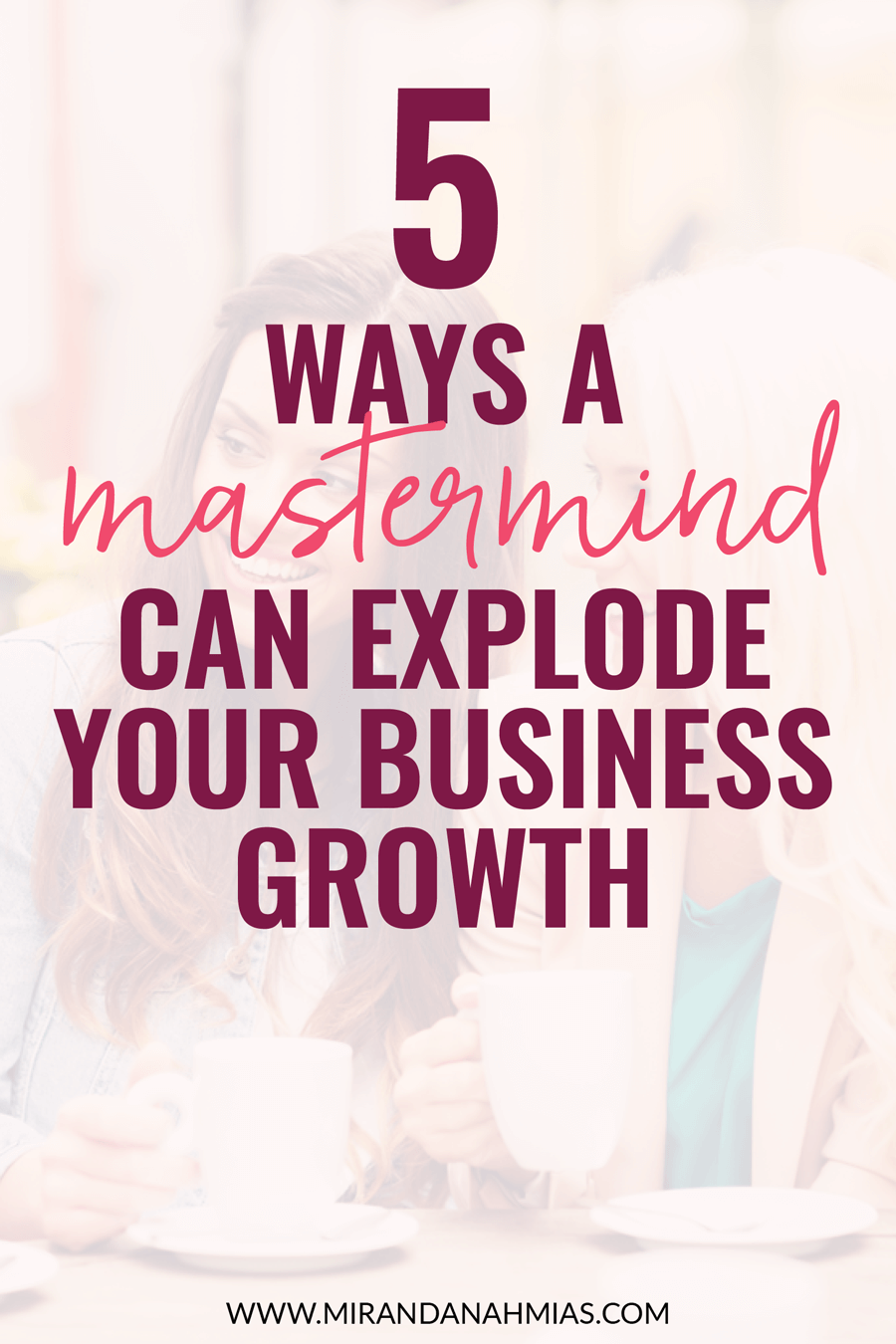 Looking to scale up your online business? Joining a mastermind is one of the best and easiest ways to explode your growth!   Miranda Nahmias & Co. Score Clients and Explode Your Business with Systematic Marketing