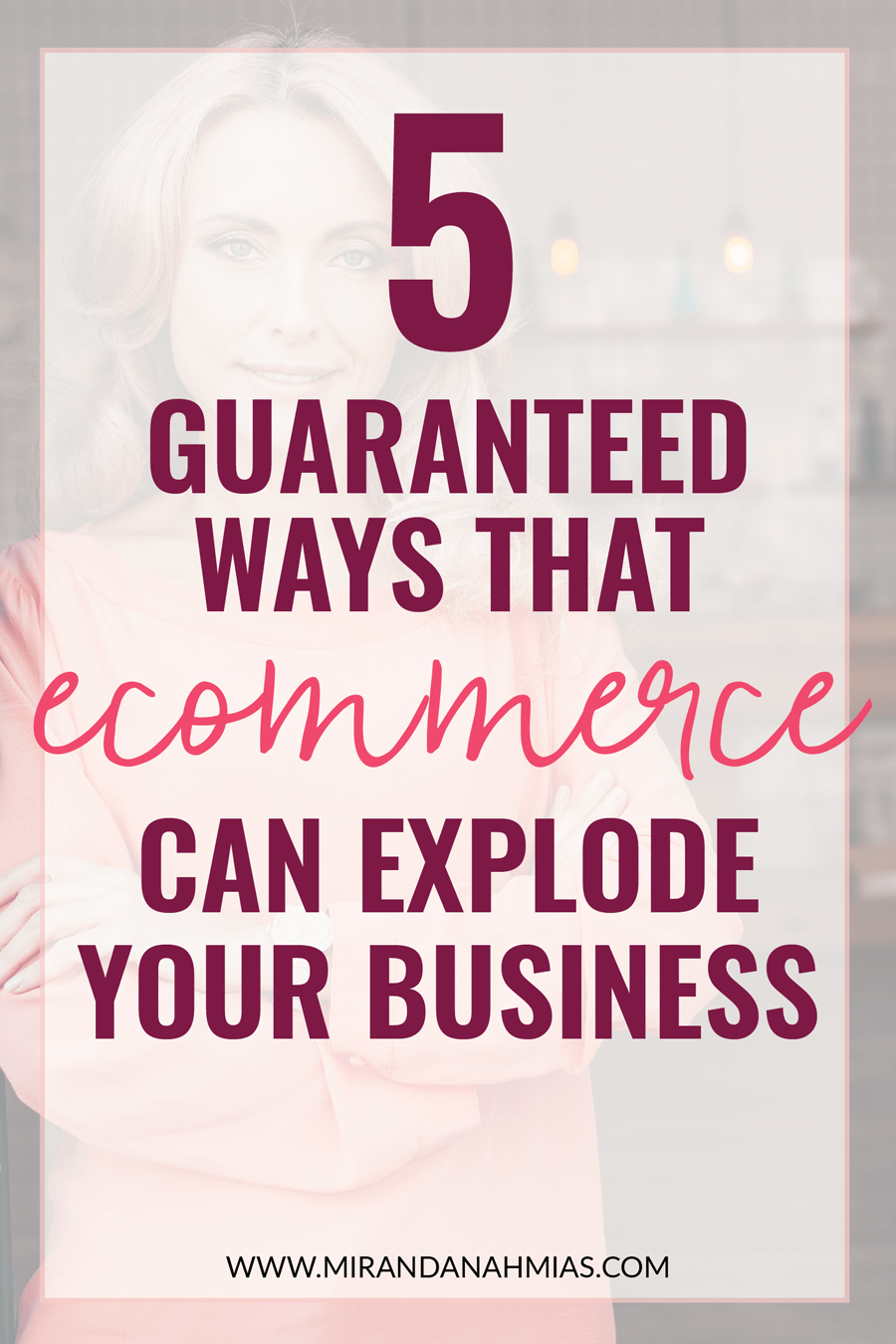 Curious about using e-commerce to beef up sales in your service-based business? Here are 5 guaranteed ways that e-commerce can explode your business! | Miranda Nahmias & Co. Systematic Marketing for Online Service Providers