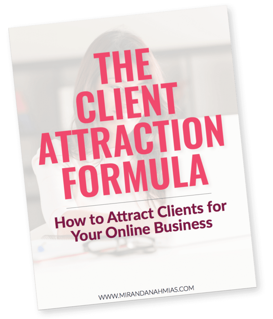 The Client Attraction Formula