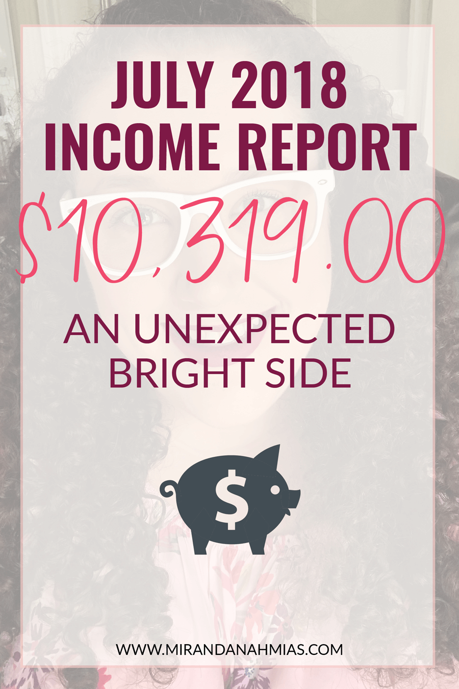 July 2018 Income Report | Miranda Nahmias & Co. Systematic Marketing