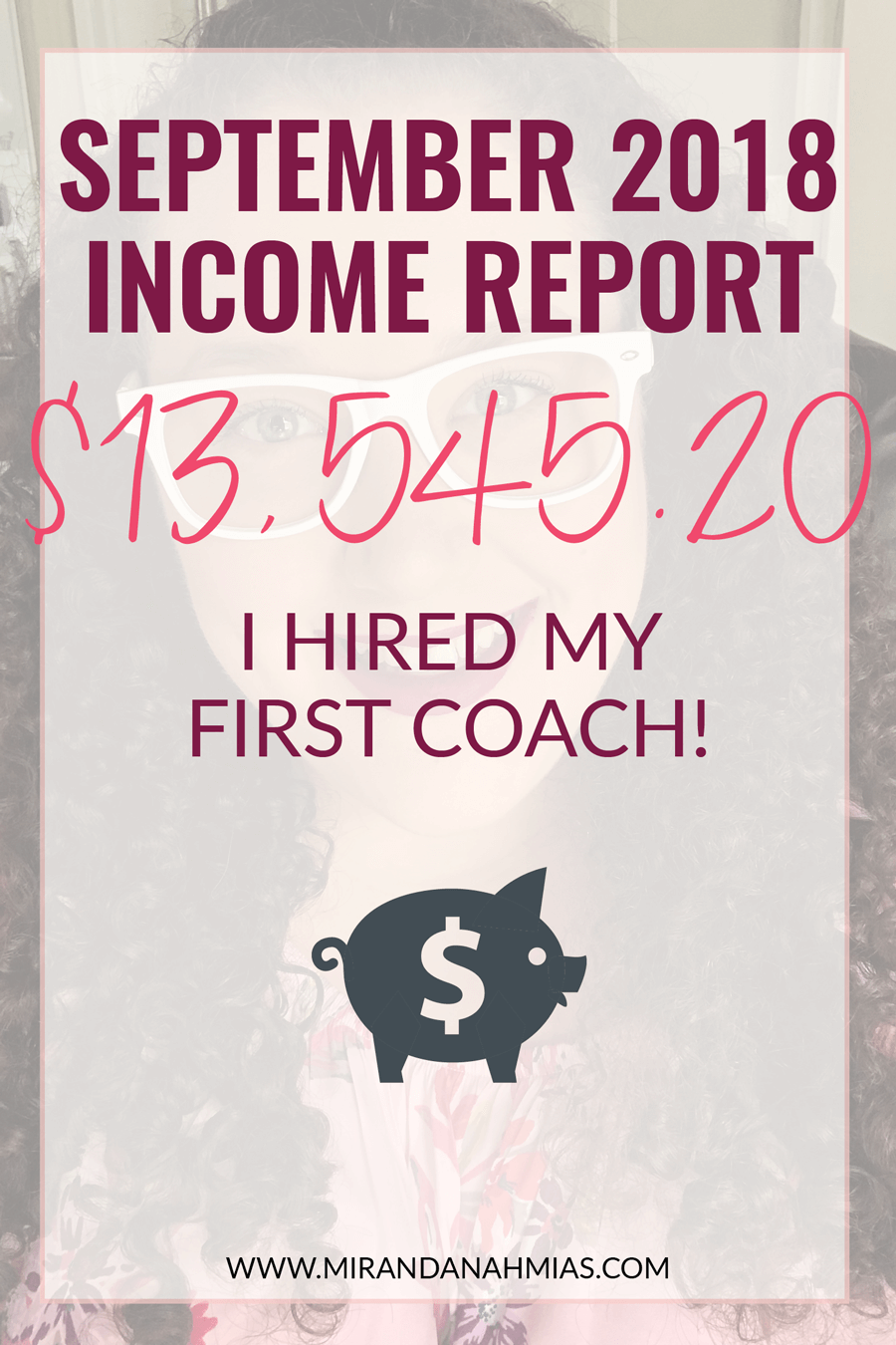 My September 2018 Income Report! | Miranda Nahmias & Co. Systematic Marketing