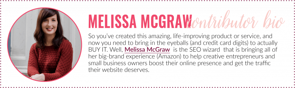 Google My Business - Melissa McGraw