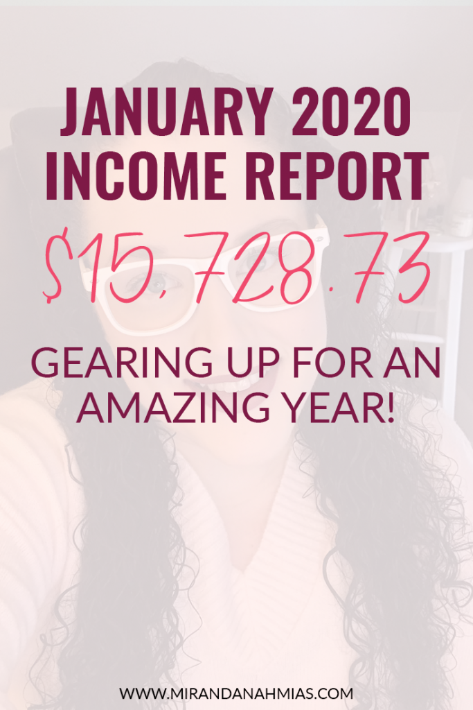 My January 2020 Income Report: Gearing Up for an Amazing Year! | Miranda Nahmias & Co. Systematic Marketing for Service Providers