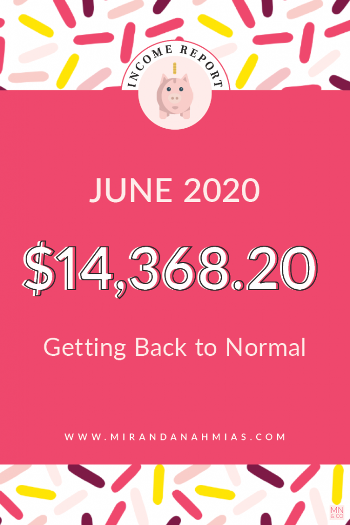 My June 2020 Income Report: Getting Back to Normal | Miranda Nahmias & Co. Systematic Marketing for Service Providers